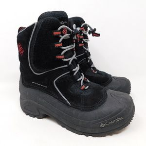 Columbia Youth Black Snow Boots Winter Size 4 Boys